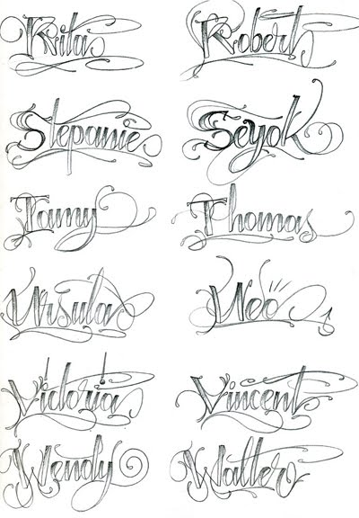 Chicano Lettering Alphabet Anny Imagenes
