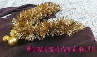 Weihnachtskleid-Sew-Along
