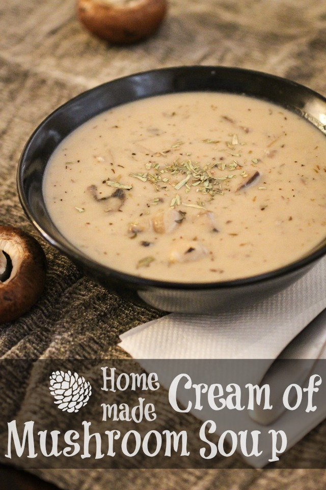 I Thought About Saying Something Like Never Go Back To The Canned Cream Of Mushroom But That Doesn T Even Apply Because This Is Nowhere On A Scale To