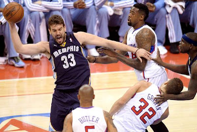 Marc Gasol playoffs Clippers