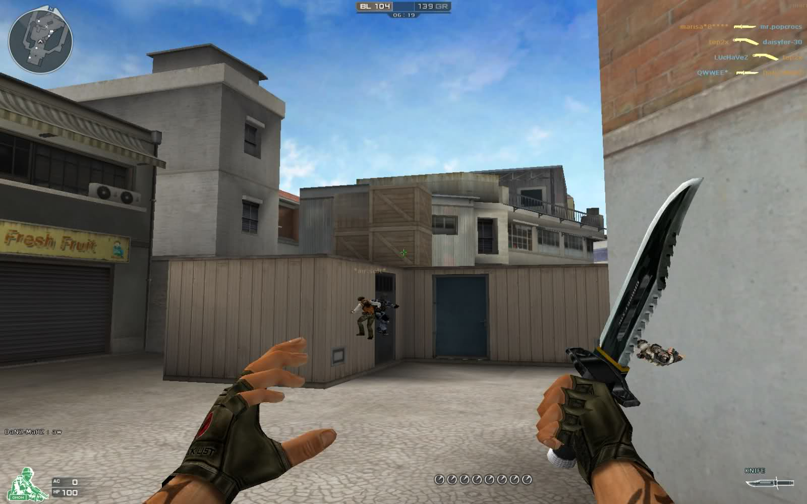CrossFire Hile D3D Wallhack Paint Mode CrssHair v10.05.2013 indir