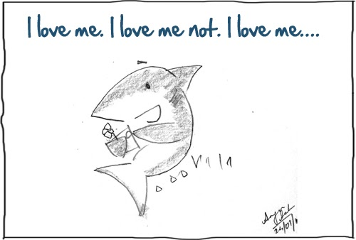 The Shark Comics And Cartoons: Happy Valentineu0027s Day To Me!
