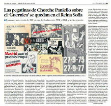 EN EL CENTRO DE DOCUMENTACION DEL MUSEO REINA SOFIA DE MADRID