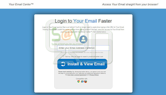 Your Email Center - Virus