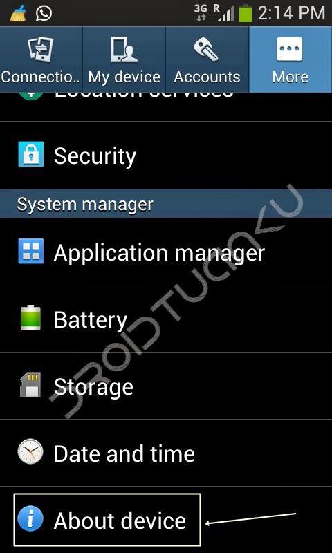 Cara Mengaktifkan USB Debugging Samsung Galaxy Ace 3