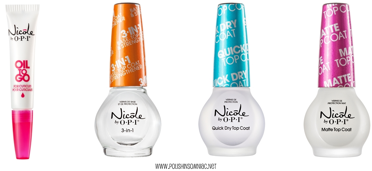 New nail products from Nicole by OPI