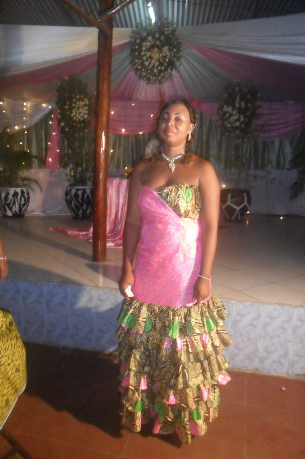 Subira Wahure Official African Couture Blog KITCHEN PARTY DRESS BY SUBIRA WAHURE