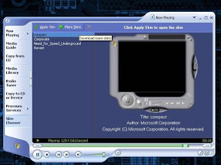 Cara Mengganti Skin Windows Xp Media Player