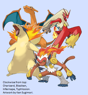 The Thing Is Though Neither One Can Really Take A Hit But Infernape Fast Enough Not To Care Because He Level His Targets Before They Fight