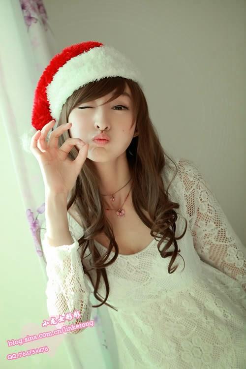 juliet lin ketong sexy santa claus pics 01