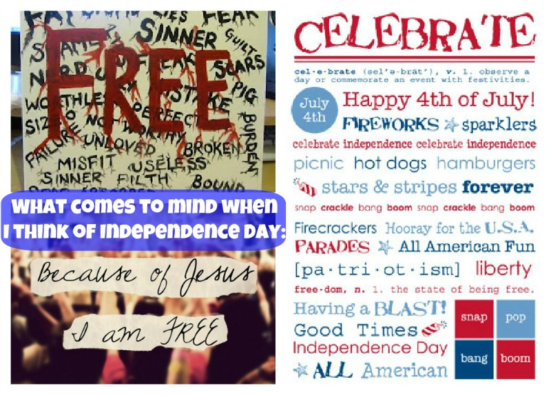 I 39 m free happy independence day 2012 pink hugs for What does the 4th of july mean