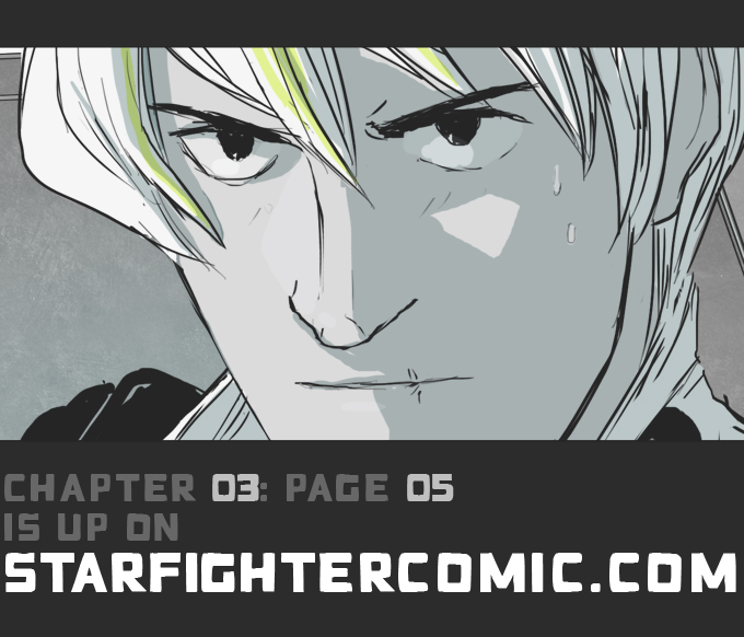starfighter panels ch03 pg 05 by hamletmachine d4x50b4 Siberian Husky. Puppy Adult