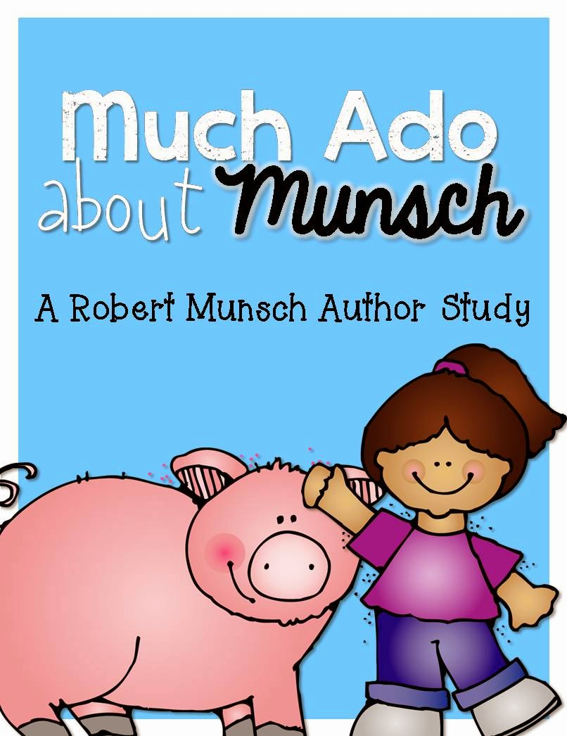 https://www.teacherspayteachers.com/Product/Much-Ado-About-Munsch-Robert-Munsch-Author-Study-216973