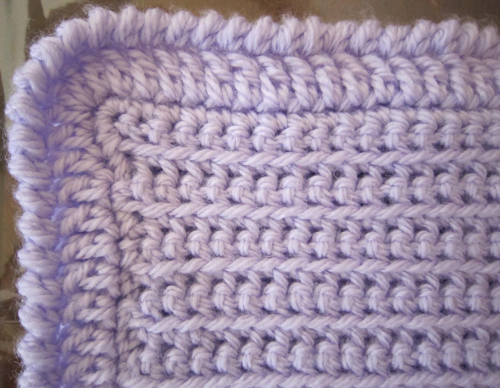 Reverse Single Crochet : Crab Stitch or Reverse Single Crochet:
