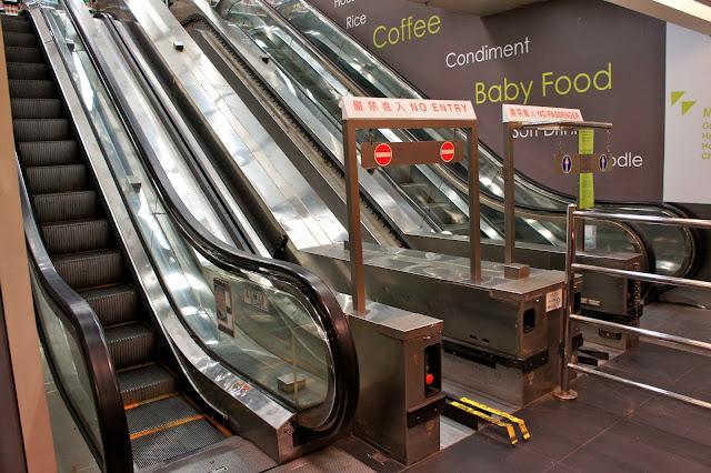 FUSION Escalera mecánica carrito compra