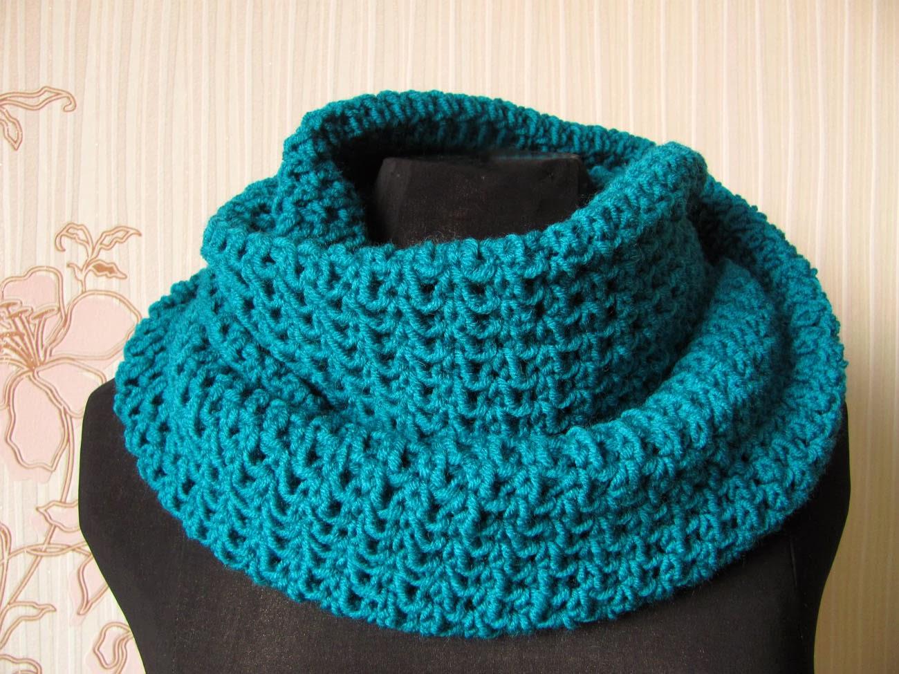 Вязанные шарфы снуды своими руками фото 425
