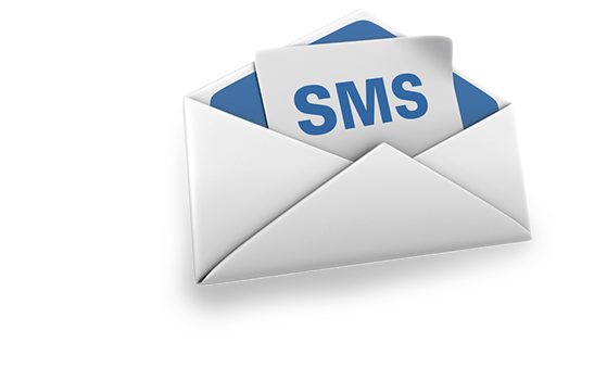 You can use two methods to send out SMS :