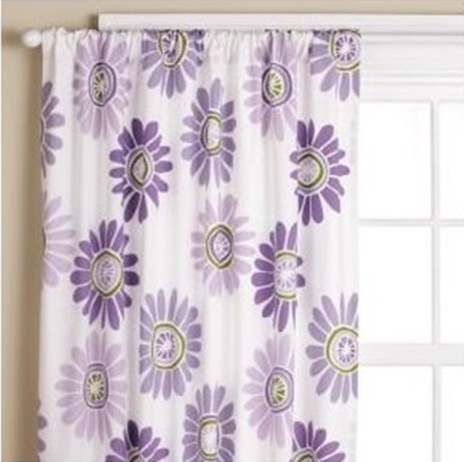 Purple, violet and lilac curtains designs and ideas