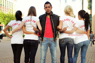Carry On Jatta - Gippy Grewal With Girls Photo