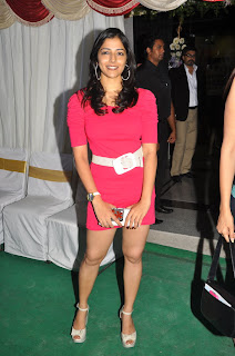 Nishanti Ivani Spotted ina Pink Mini Gown Lovely Smooth Legs Spicy Beauty Nishanti
