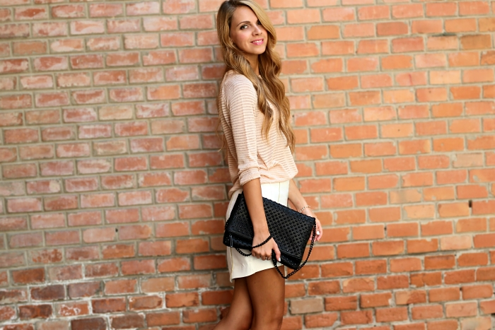 pastel outfit, street style, neutral colors, Zara, Mango