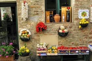 Al mercato – alimentari in Colle, Tuscany