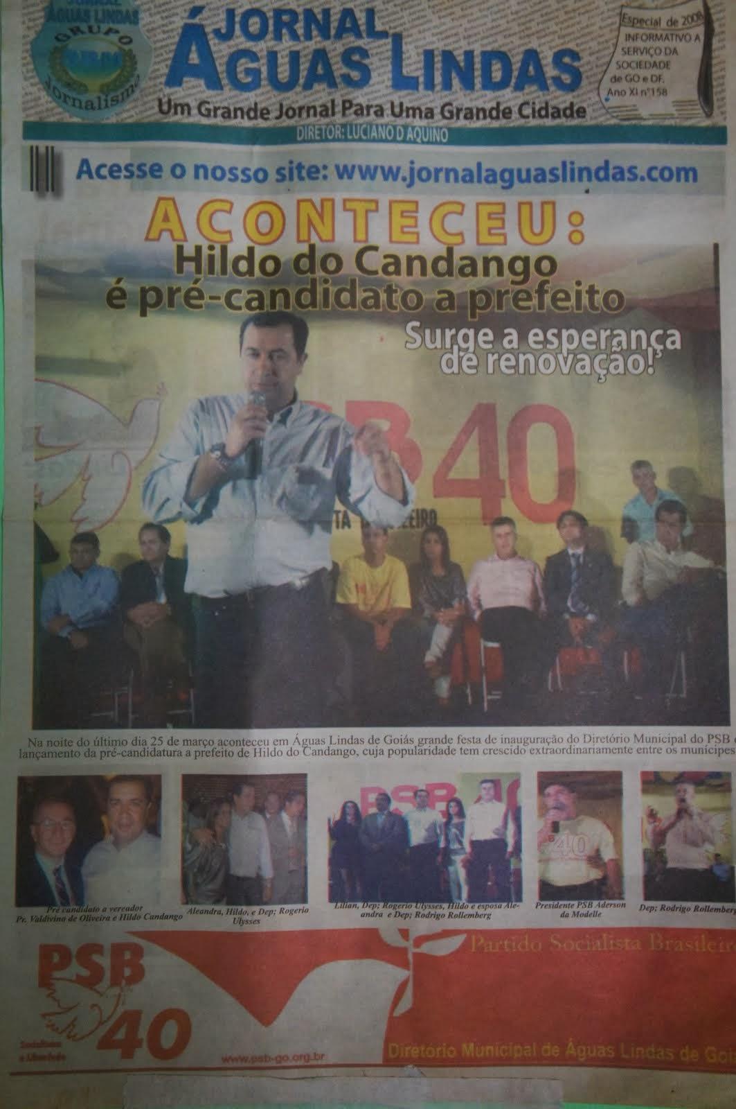 jornal aguas lindas