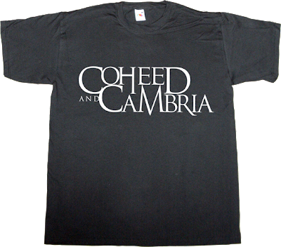 rock progressive Coheed & Cambria t-shirt ephemeral-t-shirts