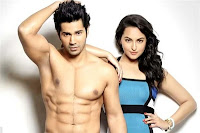download hot photo of varun dhawan and sonakshi sinha