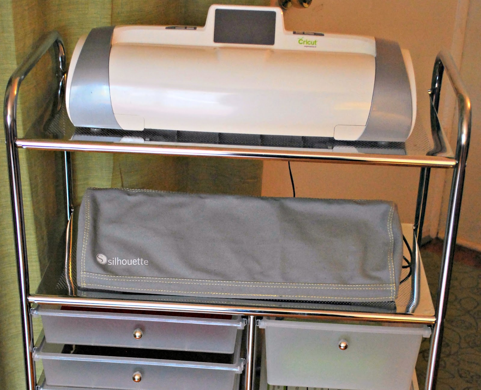 cricut machine storage