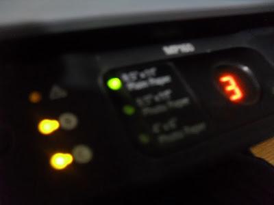 impresora canon con error