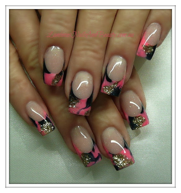 luminous nails july 2012