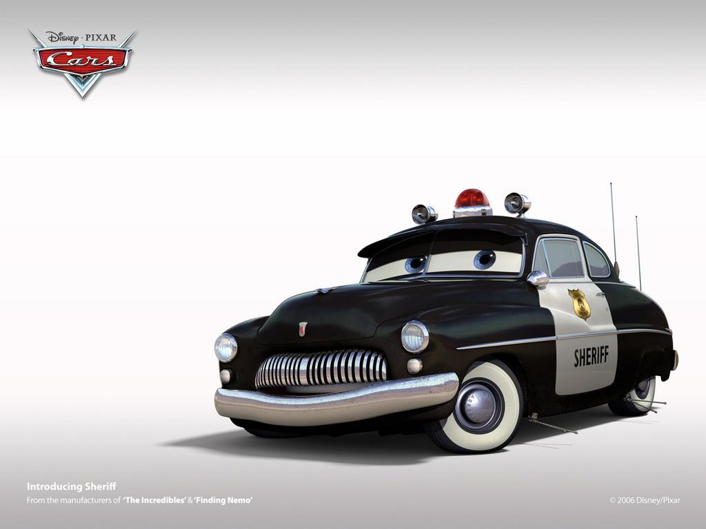 Cars 2 Cartoon Characters : Disney pixar cars cartoon characters quot sheriff wallpaper