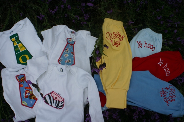 Pants and Onesies $10.00 each