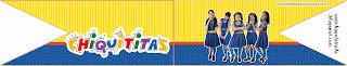 Kit Festa Chiquititas Para Imprimir Grátis
