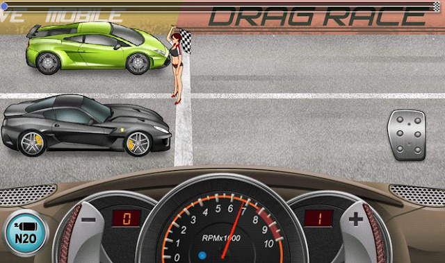 drag racing ios
