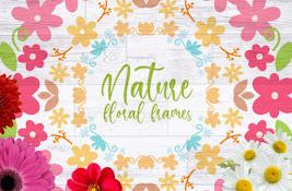 Free Nature Floral Frames