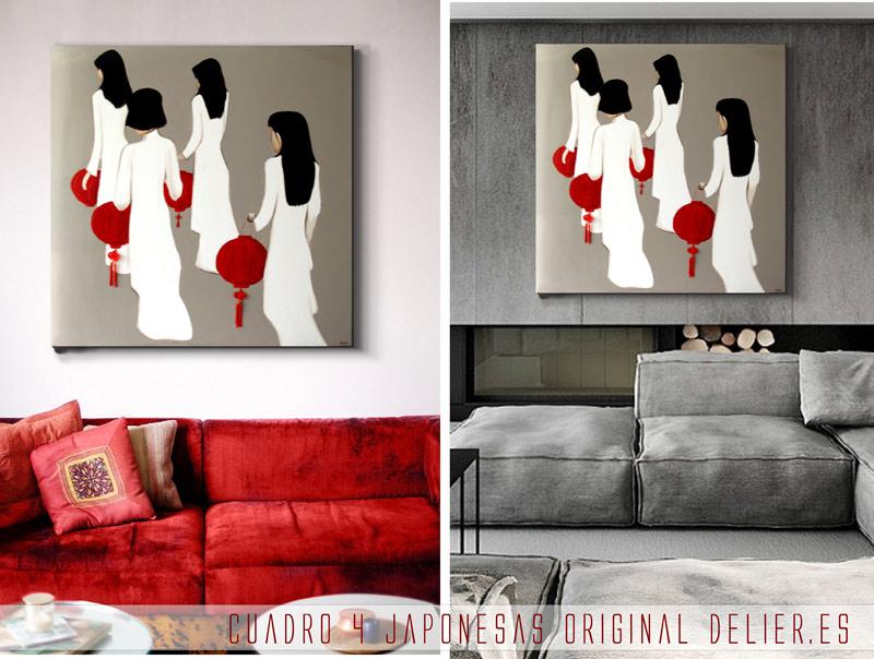 Sensaciones de hogar donde comprar cuadros orientales for Comprar cuadros modernos online