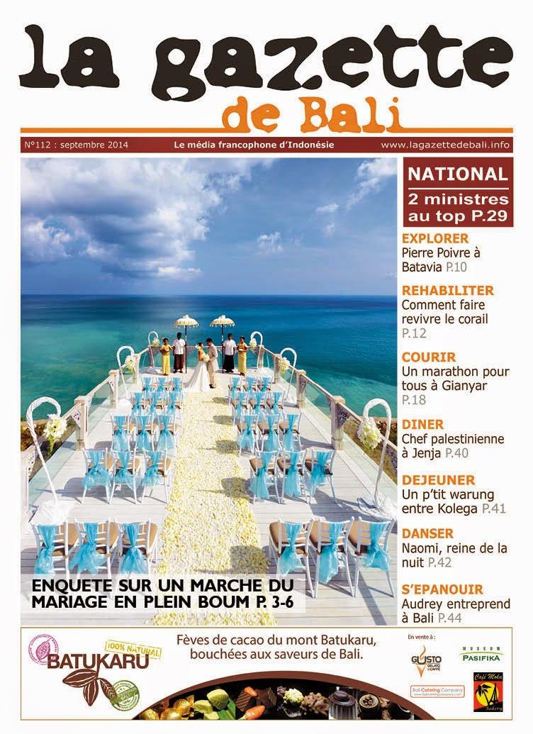 La Gazette de Bali septembre 2014