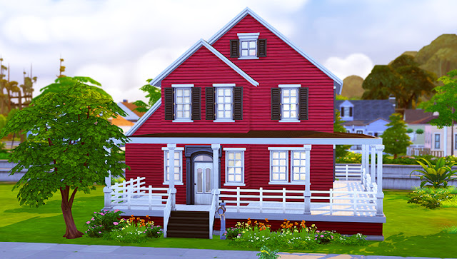 Sims 4 Craftsman House