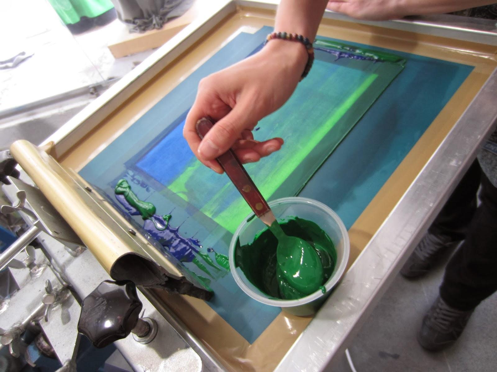 Kurse in unserer Siebdruckwerkstatt