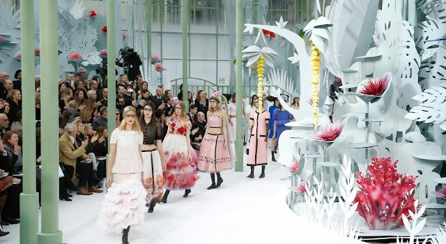 Chanel, chanel haute couture, haute couture, défilé haute couture, du dessin aux podiums, dudessinauxpodiums