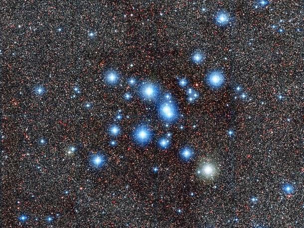 Astrofoto: Aglomerado estelar brilhante Messier 7