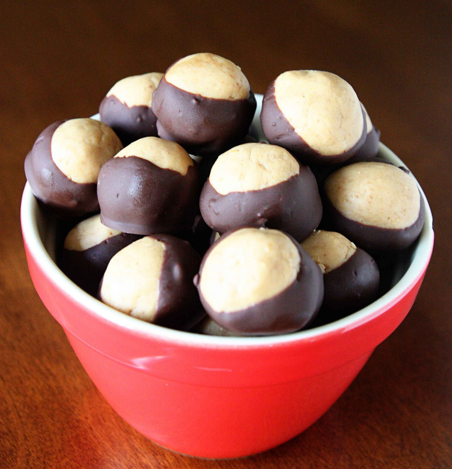 The Watson Family: Peanut Butter Chocolate Balls... A.K.A ...