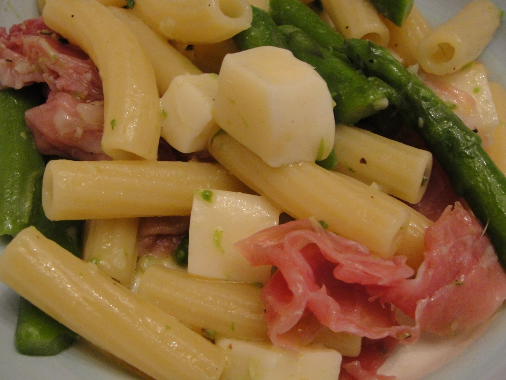 how to cook diced prosciutto