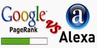 What is the Difference Between Alexa Rank & Google PageRank?