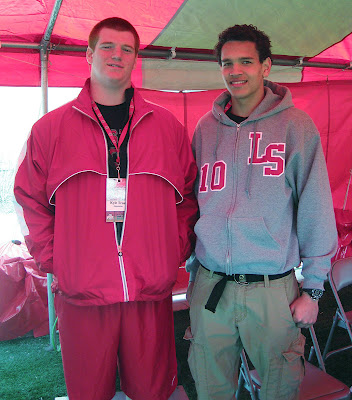 4* 2014 OT Kyle Trout and 4* 2014 WR Derek Kief