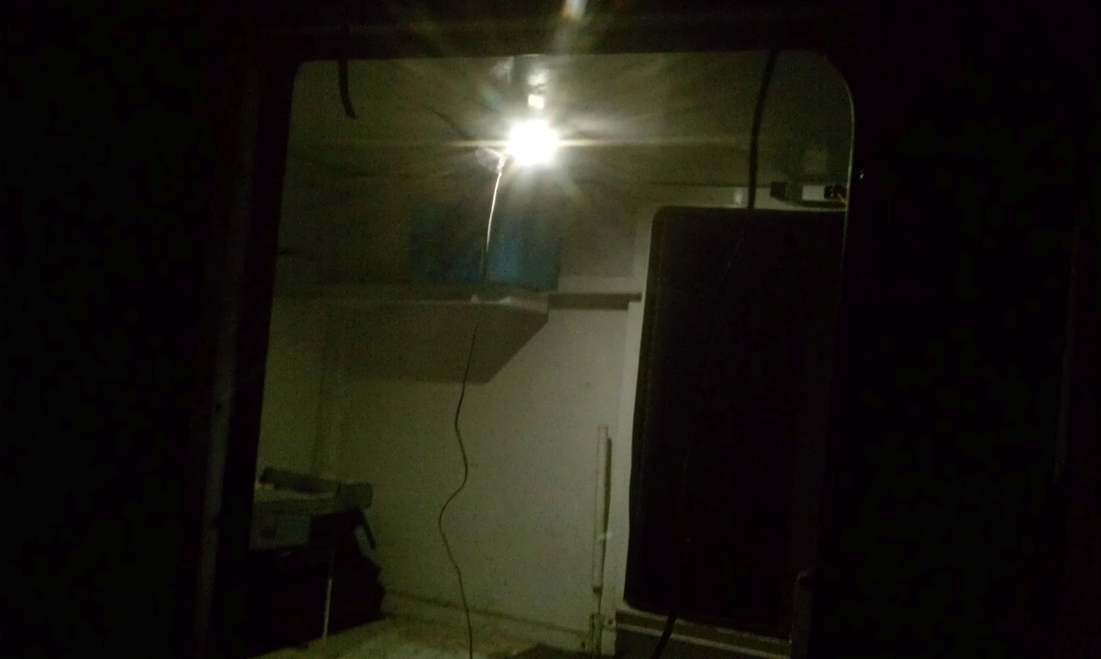 Radar Trailer Conversion To Solar Bug Out Camping Or Mobile Power Station Mount Internal Led