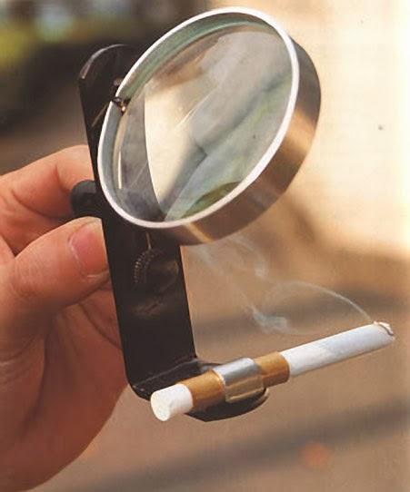 Solar Powered Cigarette Lighter