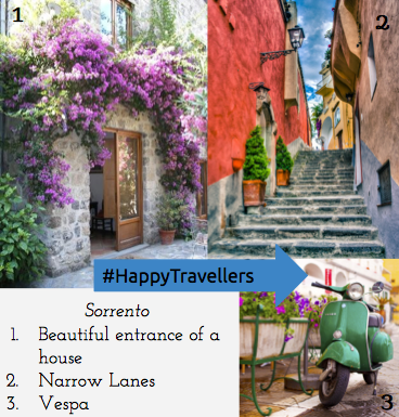 Sorrento, Italy, Vespa